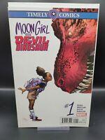 Moon Girl and Devil Dinosaur 1 Timely Comics  Marvel Low Print VF/NM Disney+