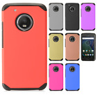 For Motorola Moto G5 PLUS HARD Astronoot Hybrid Rubber Silicone Case Cover