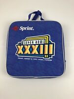 1999 Super Bowl XXXIII 33 Seat Pad Denver Broncos Atlanta Falcons Miami FL