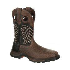 Durango Boot Men's   DDB0176 Maverick XP Steel Toe WP Western Work Boot