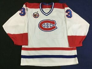 Vintage Montreal Canadiens Patrick Roy #33 Hockey-NHLStanley Cup CCM Jersey SzS