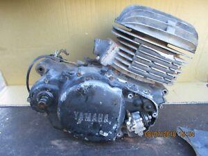 YAMAHA  DT 250  ENGINE  /  MOTOR  1981