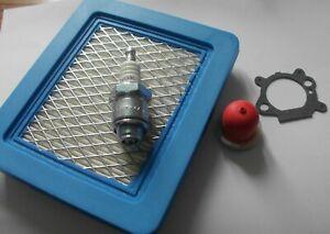 Hayter Mower Tune up Kit - Filter, Plug, Primer, Gasket Briggs/Stratton Quantum