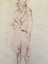 Reginald Marsh Original on Paper - Women