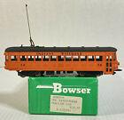 Bowser HO Scale Indiana Railroad Interurban Trolley Car #56 Orange & Black