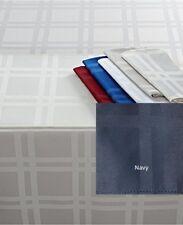 "Martha Stewart Table Linens, Skylight Plaid 70"" Round - Navy"