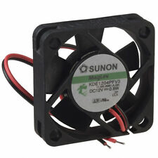 NEW Sunon 40mm x 10mm Quiet MagLev Fan 12V Bare Leads Vapo 40x10mm KDE1204PFV3