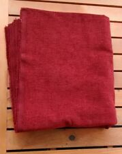 Cranberry Red Chenille Upholstery Fabric 1.75 Yards