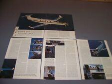 VINTAGE..PILATUS PC-12..HISTORY/DETAILS/SPECS/COST..RARE! (465H)