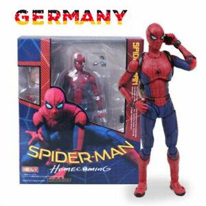 SpiderMan Action Figur Modell Homecoming PVC Geschenk Spielzeug Figure Superheld