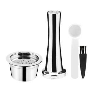 Edelstahl Kaffeekapsel Tasse Pod Set Fit für ALDI / Expressi / K FEE