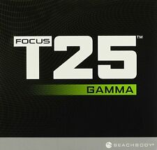 Brand New Beachbody Focus T25 Gamma DVD Set Sealed