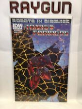 Transformers Robots in Disguise #9 Cover A VF+ 1st Print IDW Comics