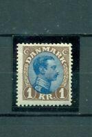 Dänemark, König, Nr. 128Falz *