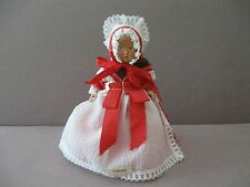"VINTAGE CELLULOID DOLL in NATIONAL COSTUME VALBY-DENMARK  6"" tall"