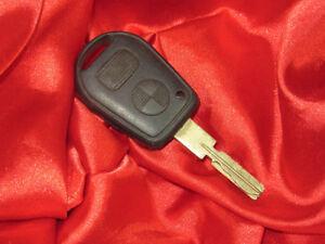 BMW E36 E34 E39 E38 Z3 3 5 7 's IGNITION MASTER KEY OF REMOTE CONTROL TWO BUTTON