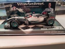 Minichamps Mercedes W01 1:43 M.Schumacher 2010 Edition limitée Welcome Back!