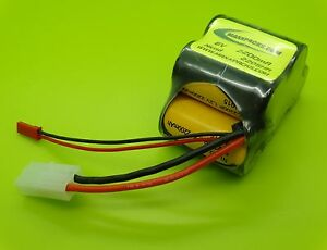 2200mA 6V SUB-C  Rx RECEIVER BATTERY PACK 4 REDCAT 1/5 RAMPAGE MT XB XR XSC EXT