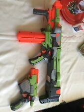Lot 2 Nerf Guns Vortex Nitron Motorized Blaster & Proton Gun