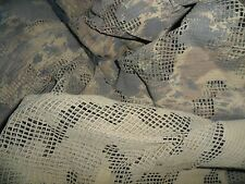 Idf Zahal GREY URBAN Desert Camo Net for Helmet Cover Israeli Army Double Sided