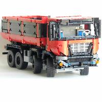 LEGO COMPATIBILE Camion Truck 8x4 Dumper MOC-19929 Technic novita' 2019
