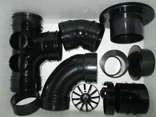 4 INCH (110MM) SOLVENT WELD PIPE FITTINGS KOI POND