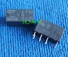 10pcs ORIGINAL 12V Omron G5V-2-12VDC 2A 30VDC Signal Relay 8PIN