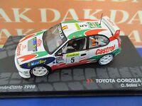 Die cast 1/43 Modellino Auto Toyota Corolla WRC Rally Monte Carlo 1998 C.Sainz