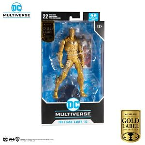 """McFarlane Toys - DC Multiverse  7"""" Figure Barry Allen (Earth 52 Flash) Gold Labe"""