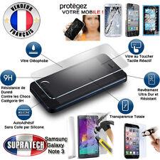 Protection d'Ecran en Verre Trempé Contre les Chocs pour Samsung Galaxy Note 3
