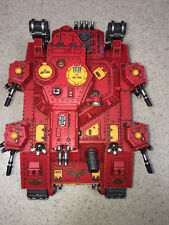 Warhammer 40000 40K Blood Angels Astra Militarum Banehammer paint 8/10 greatcond