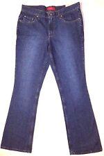 New ZENA Jeans size 10 average boot cut denim dark blue jeans pants