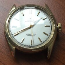VERY RARE Men's Rolex 6085 Super Oyster Perpetual Solid 14K Gold Watch