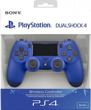CONTROLLER ORIGINALE SONY PLAYSTATION 4 PS4 DUALSHOCK V2 WAVE BLUE WIRELESS NEW