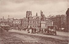 Forster Square & Early Car, BRADFORD, Yorkshire