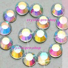 AB Crystal Clear Iron On Hotfix Rhinestone Glass Craft Bead Applicator Diamante