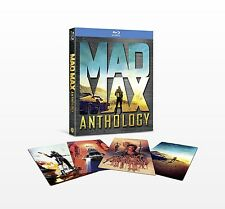 Mad Max Anthology [Blu-ray Box Set, 4-Film Collection, Region A, 4-Disc] NEW