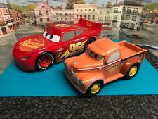 Disney Cars Lightning Mcqueen and Smokey the Pick up Truck toys