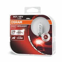 Osram Night Breaker Silver +100% Luci H7 12V Lampadine Fari 64210NBS Duo Box