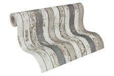 Vliestapete Holz-Optik Vintage Shabby weiß grau AS Creation 95914-2 (2,80€/1qm)