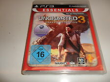 PLAYSTATION 3 PS 3 UNCHARTED 3-Drake 's Deception [Essentials]
