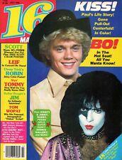 VINTAGE 16 TEEN MAGAZINE-KISS JULY 1980 PAUL-ACE-PETER-GENE SIMMONS POSTER