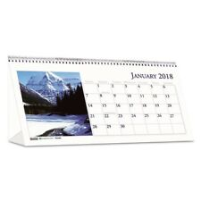 House of Doolittle 2018 Scenic Photos Desk Tent Monthly Calendar - 3649