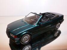 SCHABAK 1605 BMW 325 E36 CABRIOLET - GREEN METALLIC 1:24 - EXCELLENT (2)