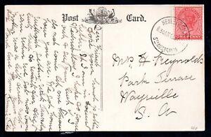 South Australia QV Foot Bridge, Gawler Postcard Henley Beach Postmark WS18307