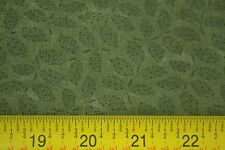 By 1/2 Yd, Green Leaves on Green, Quilting, Kansas Troubles Quilters, Moda M7074