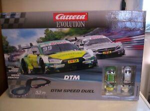 Carrera Evolution DTM 5234 Slot Car Set with Extra Car 1/32