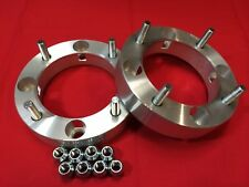 "2 BILLET WHEELS SPACERS ADAPTER 1.25"" 2018 Polaris RZR Ranger 1000 Turbo"
