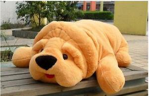 80cm Big Giant Large Pug Dog Bulldog plush Stuffed Soft kids favor Toy Doll-1pcs