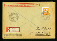 Germany Stamped Cover from Toblach